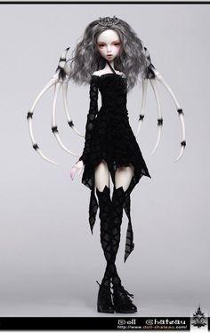 Isabel Doll Chateau 1/4 GIRL super dollfie size MSD bjd | eBay