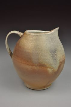 Wood Fired Pitcher by justinlambert on Etsy,