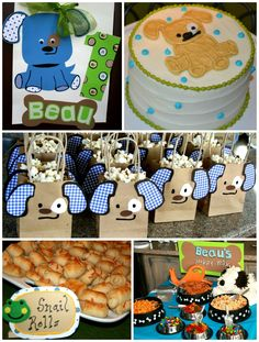 Cute boy party theme: Frogs, Snails & Puppy Dog Tails