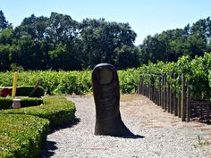 Clos Pegase sculpture in Napa Cat Wine, Famous Wines, Wine Art, Wine Quotes, Napa Valley, Countryside, Weird, California, Sculpture