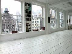 white floor!!