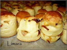 Limara péksége: Hagymás pogácsa