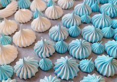 Meringue Cookies, Mini Cupcakes, Macarons, Food To Make, Cake Recipes, Deserts, Sweet, Christmas, Decor