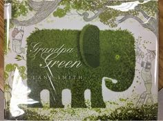 Stencil prints: Grandpa Green