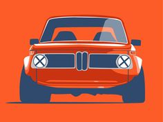Retro 2002 - Mason Watson's original BMW 2002 illustration for Cars for a Cure T-Shirt. of proceeds from each sale go directly to The Breast Cancer Research Foundation®. Suv Bmw, Bmw Cars, Bmw E9, Porsche, Audi, Bmw X5 F15, Automobile, Auto Retro, Bmw Classic Cars