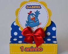 Porta bis duplo 3D Galinha Pintadinha