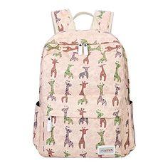 Eshops Colorful Pattern Cute School Backpacks for Girls Book Bags ...
