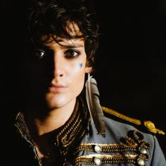 Aneurin Barnard in film 'Hunky Dory', photographed by Warren Orchard