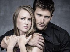 Britt Robertson and Scott Eastwood photographed by Sarah Dunn for The Longest Ride.