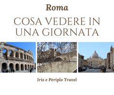 Roma: cosa vedere in una giornata Taj Mahal, Travel, Rome, Viajes, Destinations, Traveling, Trips