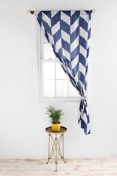 herringbone curtain #urbanoutfitters
