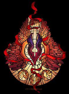 Dota,фэндомы,Phoenix (Dota),O-l-i-v-i,Dota Art