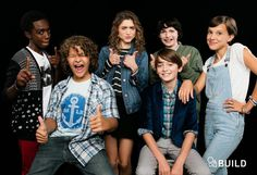 Stranger Things Cast Funny Moments Part 2 Stranger Things Quote, Stranger Things Aesthetic, Eleven Stranger Things, Stranger Things Netflix, Stranger Things Youtube, Long Island, Kids Cast, Caleb, Millie Bobby Brown