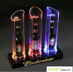 Looking for new ways of presenting your products? – Check out this amazing Point of Sale: LED Bottle Glorifier