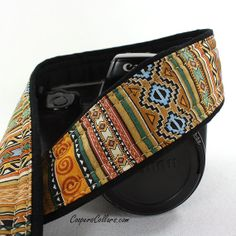 Tribal Stripe Camera Strap Southwestern dSLR SLR by CoopersCollars, $27.00