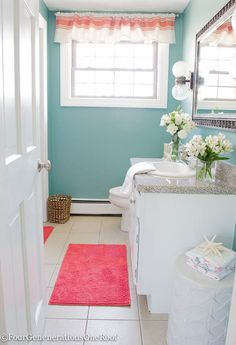10 minute DIY window Valance {no sew}!  Turn a table runner into a window valance - brilliant.
