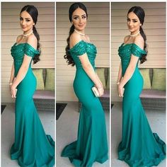 off shoulder prom dresses, elegant prom dresses, green prom dresses, mermaid prom dresses, sequins prom dresses, evening dresses, wedding party dresses, long bridesmaid dresses#SIMIBridal #promdresses