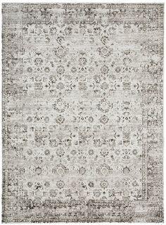 Nousha Black and White Monochrome Transitional Rug – Miss Amara (AU) – antique Rugs Black Rug, Black And White, Old License Plates, India Colors, Transitional Rugs, Large Rugs, Grey Rugs, Modern Rugs, Monochrome