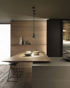Functionality and design hand in hand. A Blade Modern Kitchen Design Blade Design Function Functionality hand : Functionality and design hand in hand. A Blade Modern Kitchen Design Blade Design Function Functionality hand Kitchen Room Design, Modern Kitchen Design, Home Decor Kitchen, Interior Design Kitchen, Home Kitchens, Kitchen Ideas, Kitchen Walls, Kitchen Cabinets, Bar Kitchen