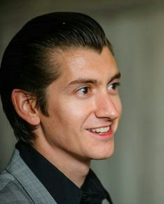 Alex turner killing all girls with his smile