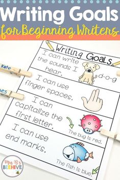 5 Ways to Build Confidence in Beginning Writers - Mrs. B's Beehive