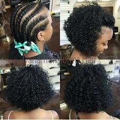 43 Greatest Wavy Bob Hairstyles - Short, Medium and Long in 2019 - Style My Hairs Braid Out Natural Hair, Natural Hair Bob, Natural Hair Care, Natural Hair Styles, Short Bob Hairstyles, Black Women Hairstyles, Cute Hairstyles, African Hairstyles, Nexxus Hair Products