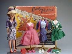 Candy Fashion Doll Circa 1960 Candy fashion doll set
