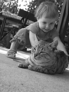 """Make your right connection today......."": Photos of Pets And Kids: Charming Love"