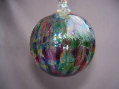 Shoply.com -Hand Blown Art Glass Christmas Ornament/Suncatcher/Ball. Only $23.00