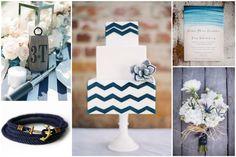 Summer Nautical Wedding Inspiration Board
