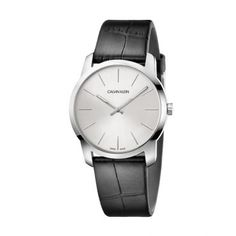 Browse our amazing selection of gorgeous mens and womens watches from brands such as Bulova, Citizen, Movado and more at Zales. Calvin Klein Watch, Black Leather Watch, Classic Leather, Watch Brands, Unisex, Stainless Steel Bracelet, Handbag Accessories, Smartwatch, Casual