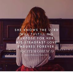 ... The Lord WILL fulfill His purpose! No greater truth to believe in. #rp #itwillbegod @quitewomenco