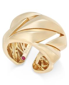 The Fifth Season by Roberto Coin 18k Gold-Plated Sterling Silver Ring 7771137SY650