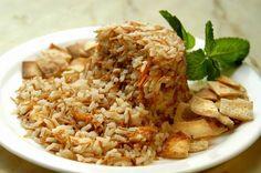 arroz srio, arroz natalino, ceia, natal, receitas, rabe