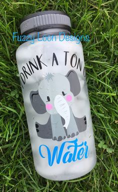 I Drink A Ton Of Water Drinking Quotes, Cup Design, Cute Water Bottles, Empty Bottles, Daily Water Intake, Water Bottle Design, Water Challenge, Water Tables, Diy Tumblers