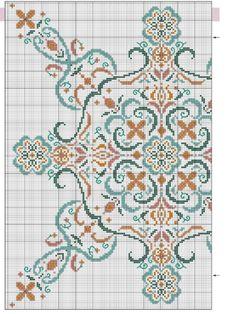 Cross-stitch Snowflake Pillow pattern, part color chart on part Gallery. Just Cross Stitch, Cross Stitch Borders, Cross Stitch Flowers, Cross Stitch Charts, Cross Stitch Designs, Cross Stitching, Cross Stitch Embroidery, Embroidery Patterns, Cross Stitch Patterns