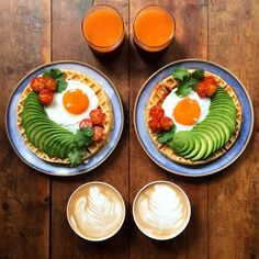 Lovestruck Boyfriend Makes Symmetrical Meals for Breakfast with His Partner Every Day - My Modern Met