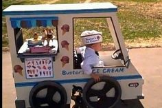 Buster the Ice Cream Man | 23 Kids Who Are Totally Nailing This Halloween Thing