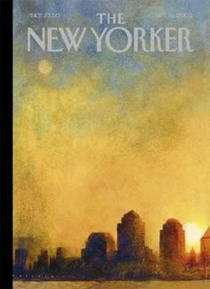 The New Yorker Cover for September 11, 2002 | Remember when it looked like this?