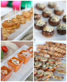 Christmas Party Idea - Trimmings & Tapas Party by PartiesforPennies.com