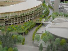 2020年東京五輪・パラリンピックのメーン会場となる新国立競技場の模型が6月17日、報道陣に初めて公開された。製作したのは、新国立競技場の設計・施工を担う大成建設・梓設計・隈研吾建築都市設計事務所共同企業体(JV)。8月からブラジルで開かれるリオデジャネイロ五輪・パラリンピックの期間中、現地で展示される。 Tokyo 2020, Japan Travel, Olympics, Architecture Design, Architecture Layout, Architecture