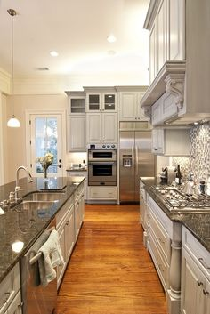 kitchen setup like mine but w/different floors - Schweigen Appliances Modern Kitchen Decor