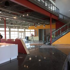 Construction Update – Painting is under way, Lighting is being installed.