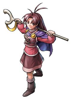 Jenna from Golden Sun