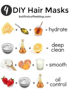 There is a DIY hair mask out there for every hair type. Whether your hair is dry or oily, try one of these DIY Hair Masks.