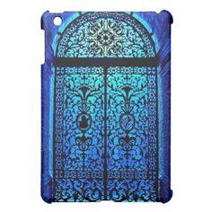 Blue Door iPad Mini Case  #ipadminis #doors #vintage #ipadcases