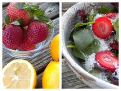 Strawberry Citrus Cheesecake Salad