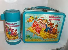 Bedknobs And Broomsticks`1972`Walt Disney Productions.Metal Lunchbox & Thermos, | eBay