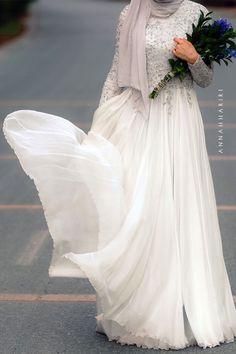 Delphinium Gown | ANNAH HARIRI | ANNAH HARIRI I want this!