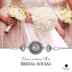 Looking for unique and affordable wedding jewellery? Look no more! With over 500 Magnolia and Vine snaps, you can easily create a customized look! Toll Free Ph : 1-855-593-7848 www.mymagnoliaandvine.ca